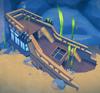 Ship stern (Aquarium) built