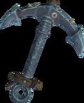 Barrelchest anchor detail