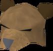 Cabeça de urso detalhe