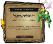 Edgeville marathon reward