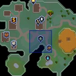 Familiarisation (Zanaris) location