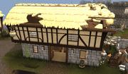 Lumbridge General Store ruined