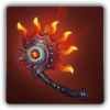 Sunflare throwing axe icon