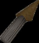 Bronze knife detail old