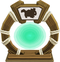 Carnivorous chinchompa portal
