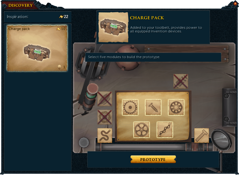 Invention tutorial runescape wiki fandom powered by wikia discovery interface step 2 malvernweather Gallery