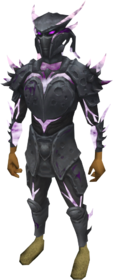 Elite sirenic armour set (shadow) equipped