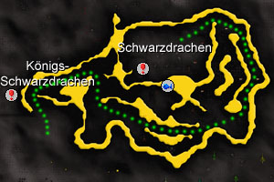 Lava maze path