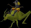 Locust rider ranged old