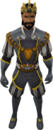 Monarch outfit equipped (male)