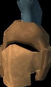 Profound decorative helm detail