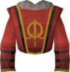 Queen's guard shirt detail