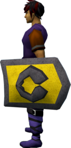 Rune kiteshield (Varrock) equipped