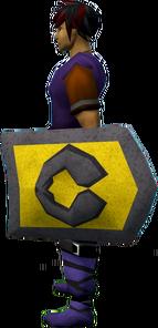Rune kiteshield (Varrock) equipped