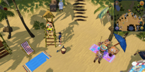 Sandy Clue Scroll Lifeguard