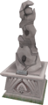 2008 Summoning altar statue.png