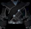 Elf-style coat (black) detail