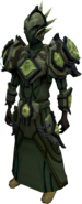 Elite tectonic armour (barrows) equipped
