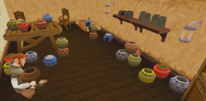 Ernie's urns