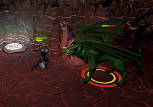 Killing green dragons
