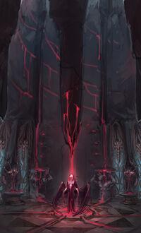 Lord of Vampyrium concept art 2