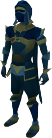 Lunar equipment (blue) equipped
