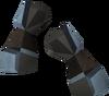 Miner gauntlets (rune) detail