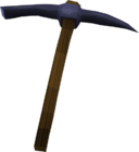 Mithril pickaxe detail old