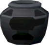 Plain smelting urn detail