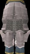 White plateskirt detail