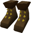 Builder's boots detail