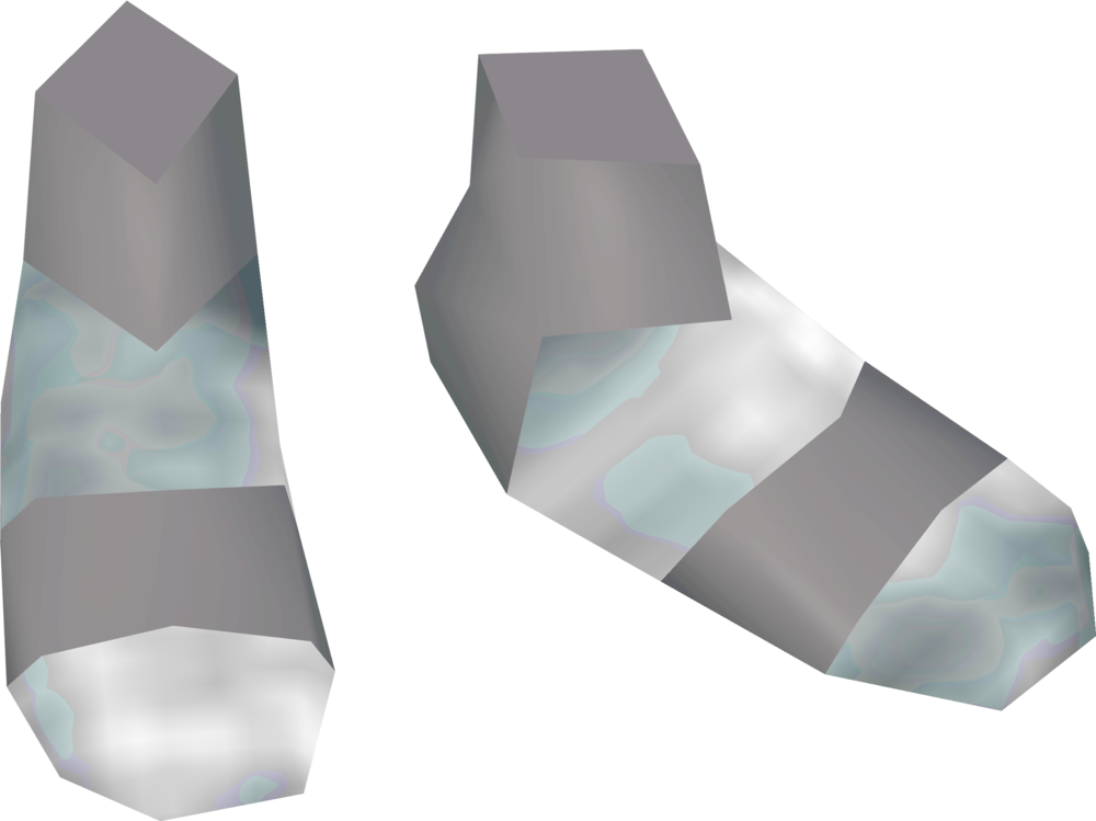 Ghostly Fremennik boots detail