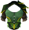 Green dragonhide body (g) detail
