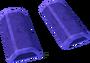 Purple wedge key detail