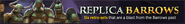Replica Barrows lobby banner