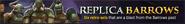Replica Barrows lobby banner