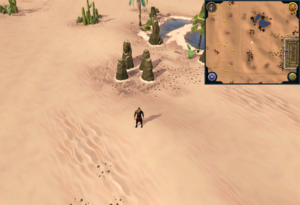 Scan clue Kharidian Desert north-west of Uzer Mastaba