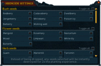 Seedicide interface