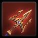 Shipwrecker trident icon