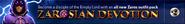 Zarosian Devotion lobby banner