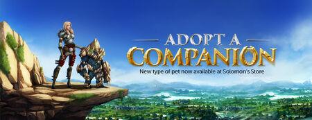Adopt a Companion banner