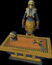Apmeken statue