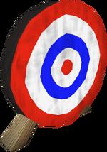 Archery target detail