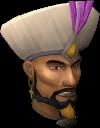 Emir Ali Mirza cabeça