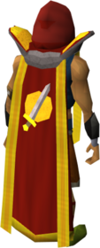 Retro attack cape (t) equipped