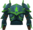Rune platebody (Guthix) detail