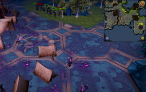 Scan clue Heart of Gielinor south-east of slope to Vindicta