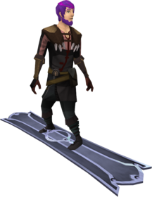 Snowboard (tier 3) equipped