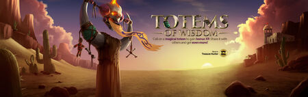 Totems of Wisdom head banner