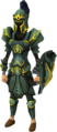 Adamant gold-trimmed armour set (sk) equipped.png
